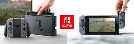 Nintendo Switch dévoilée !