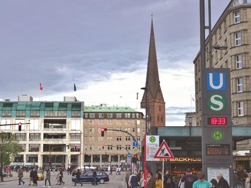 Hambourg: autour du lac (photos)