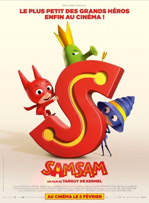 SAMSAM : le plus petit des grands héros enfin au cinéma ! Découvrez le premier teaser - Le 5 février 2020 au cinéma