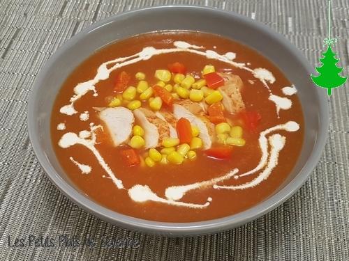 Soupe de poulet - Mexique