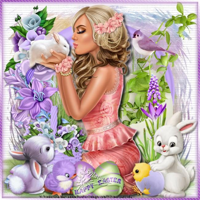 Encadrement Pâques