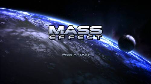 L'intro de Mass Effect