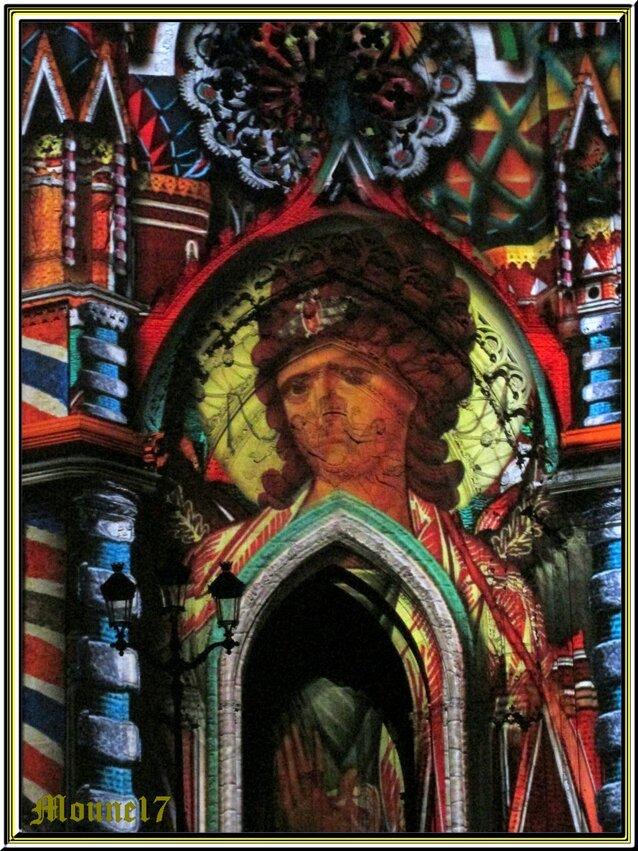 Son et lumière à  la cathédrale d'Orléans
