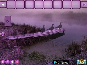 Jouer à Escape the pink flamingo bird