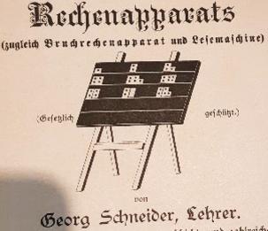 Georg Schneider : l'inventeur des plaquettes Herbinière-Lebert