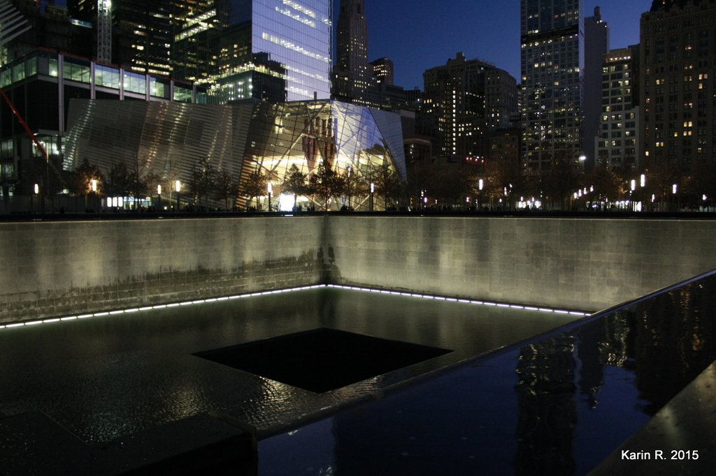 A la mémoire des victimes du World Trade Center
