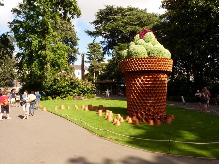 Le jardin des Plantes, lors du Voyage à Nantes - Le blog de Deepdelver