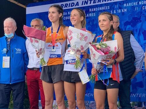 07/09/2021 - Loann RENOU  a décroché sa première médaille...