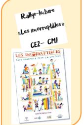 """Rallye lecture CM """"Quelle histoire"""" et autres"""