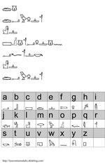 vapeur resistance message hiéroglyphes