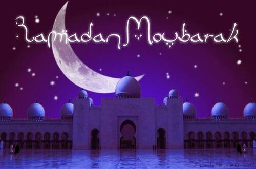 Ramadan Moubarak !!