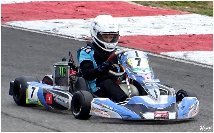 Course de karting.