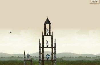 Catapulte château