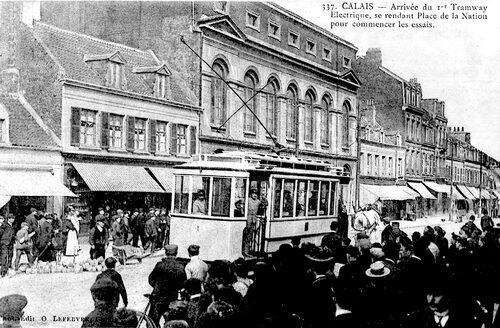 Il y a 110 ans, un tramway électrique tiré par un cheval