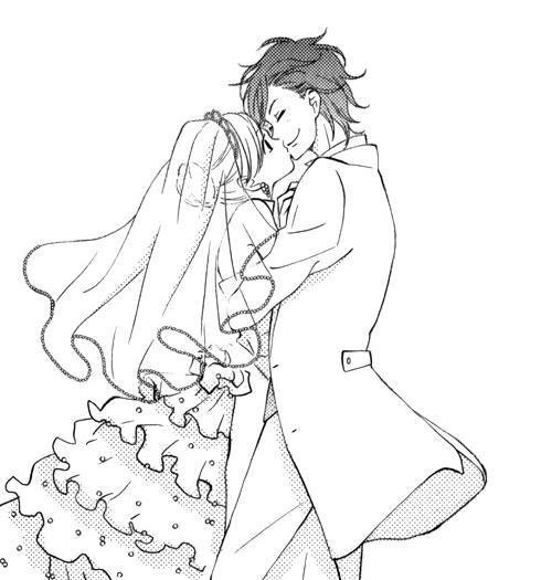 Image de manga, anime, and wedding