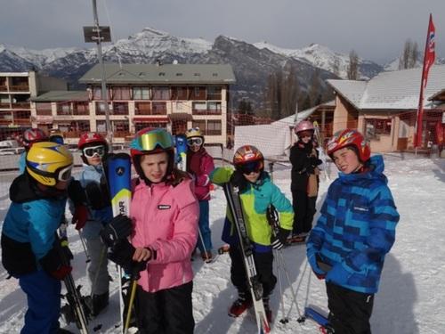 Vive le ski!