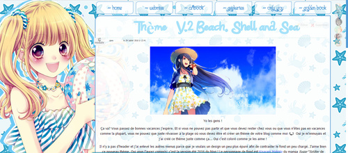 [Thème] V.2 Beach, Shell and Sea