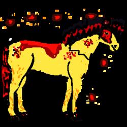 (Horse Fusion) le premier être-vivant crée par Arees et Aurtan?