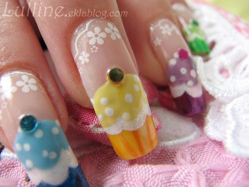 Nail Art Cupcakes