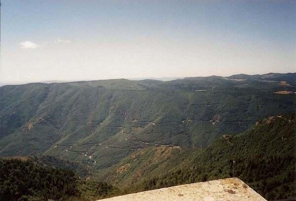 Le mont Aigoual (Lozère)