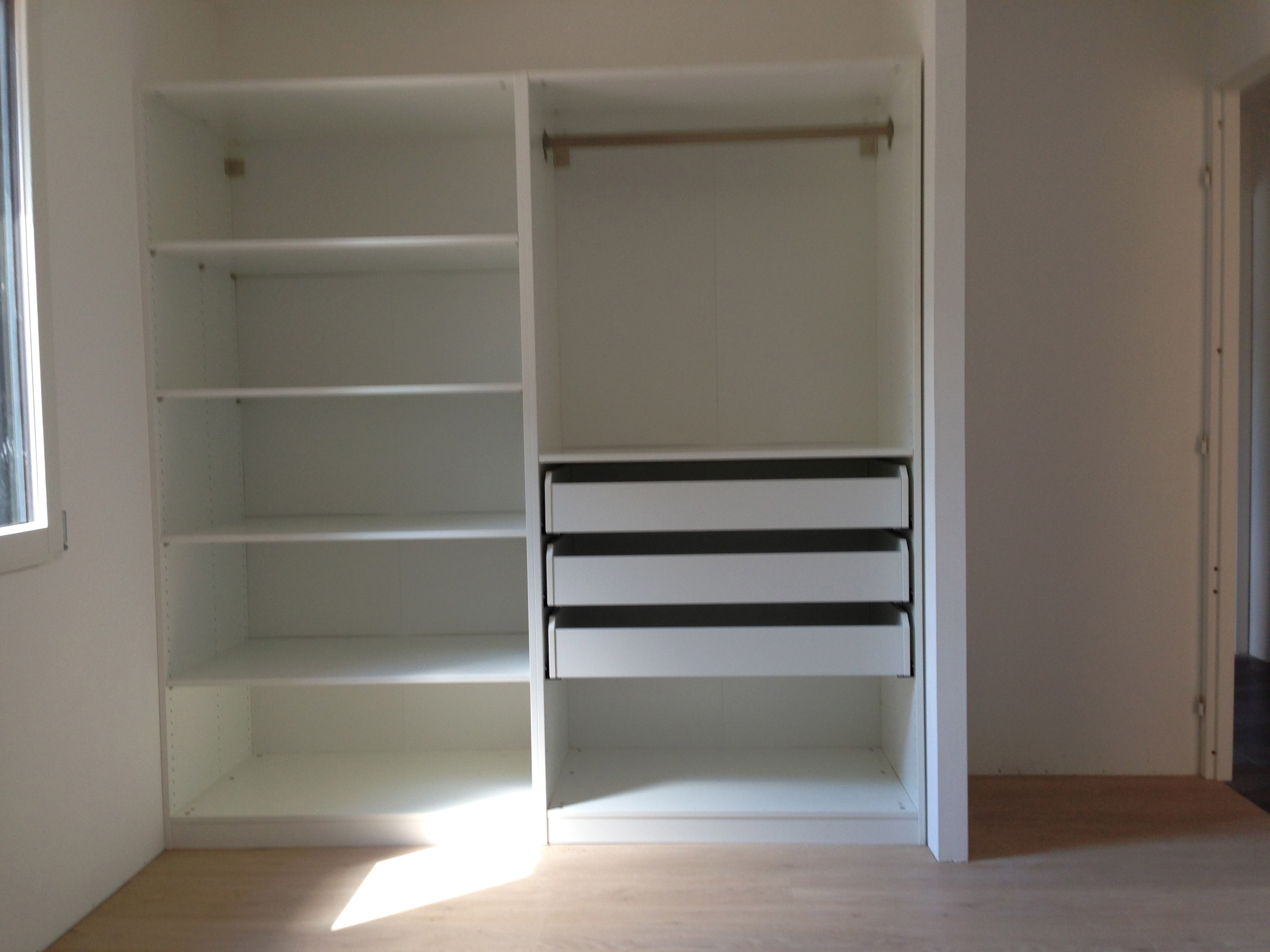 Amenagement placard chambre ikea - Ikea amenagement dressing ...