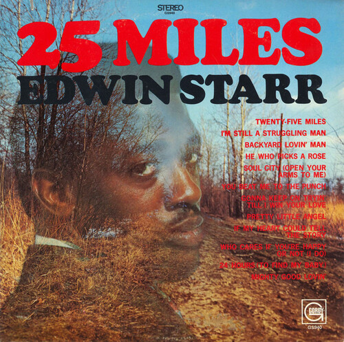 "Edwin Starr : Album "" 25 Miles "" Gordy Records GS 940 [ US ]"