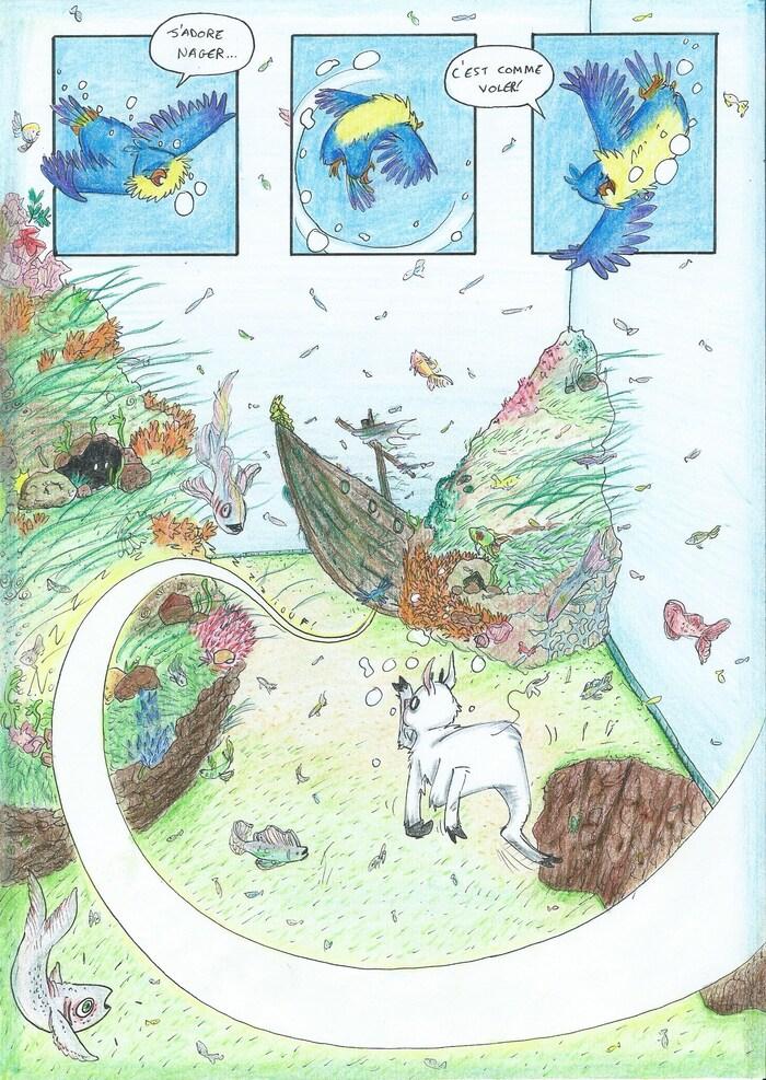 Ep.7 deuxième partie: Des poissons