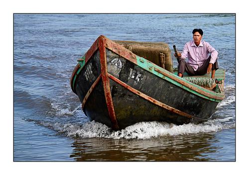 Nam Dinh 1- Les cabanes tchanquées