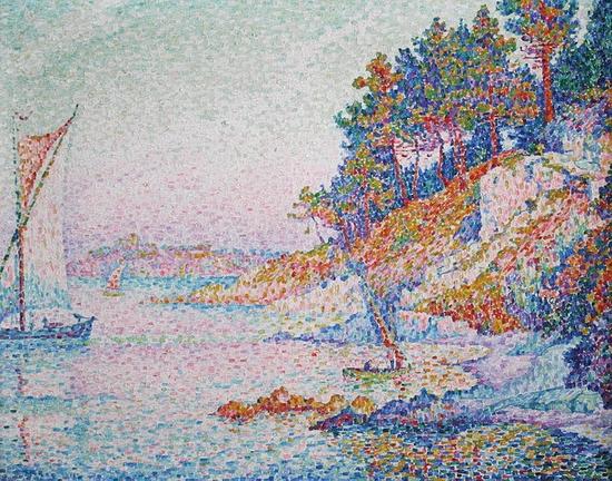 Paul Signac, La calanque