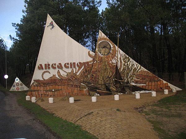entrée d'arcachon