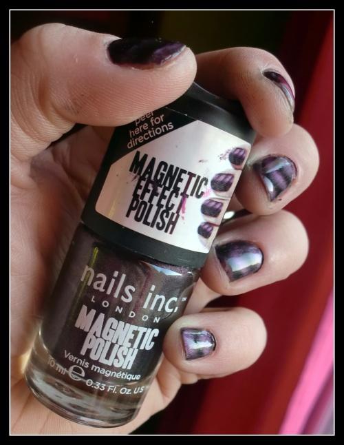 Nat : Mo, vernis magnétique Nails INC