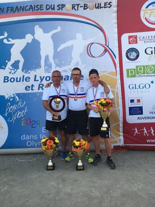 CHAMPION DE FRANCE M2 Doublettes 8 juillet 2018