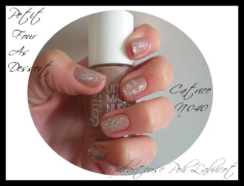 Vernis Catrice Nude et son NA