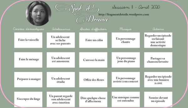Spot It Drama   Session 11