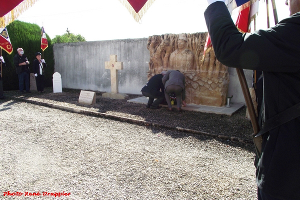 Un hommage a été rendu aux Tirailleurs Sénégalais à Châtillon sur Seine et à Coulmier le Sec