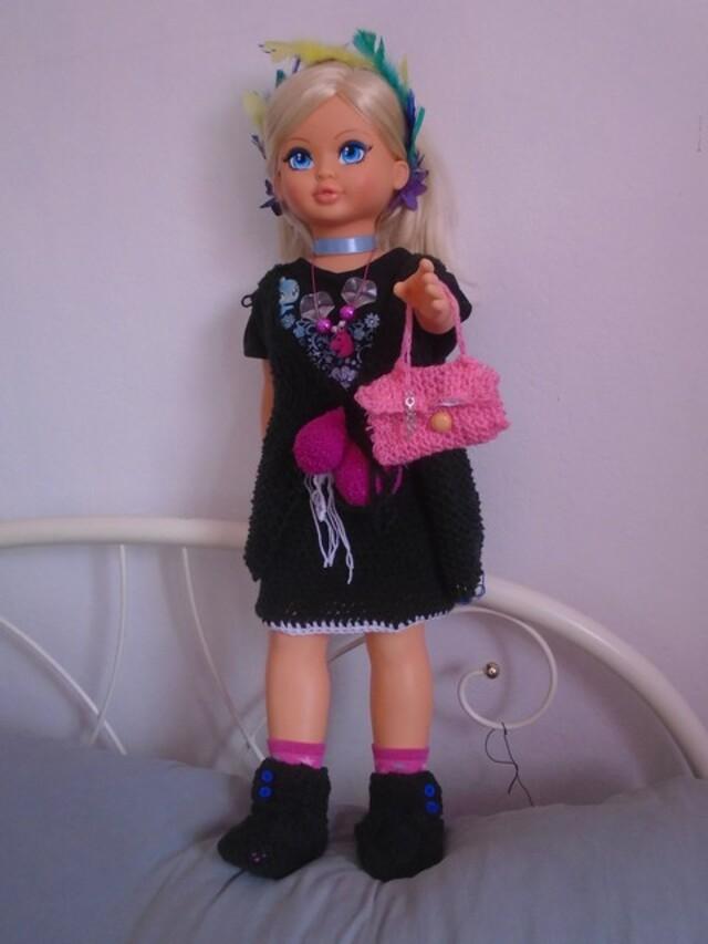 Chaussons pour poupée