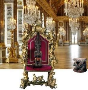 Trone en majesté