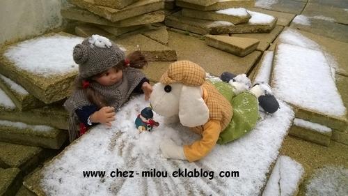 Ah la neige!