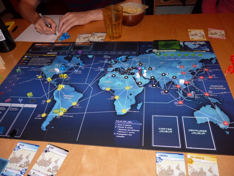 Pandémie Legacy (début avril)
