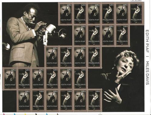 Edith Piaf et Miles Davis