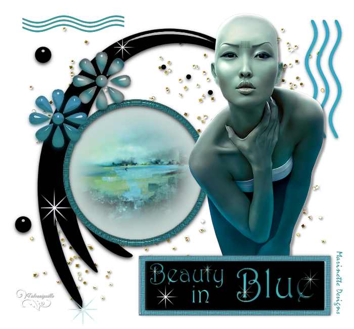 *** Beauty in Blue ***
