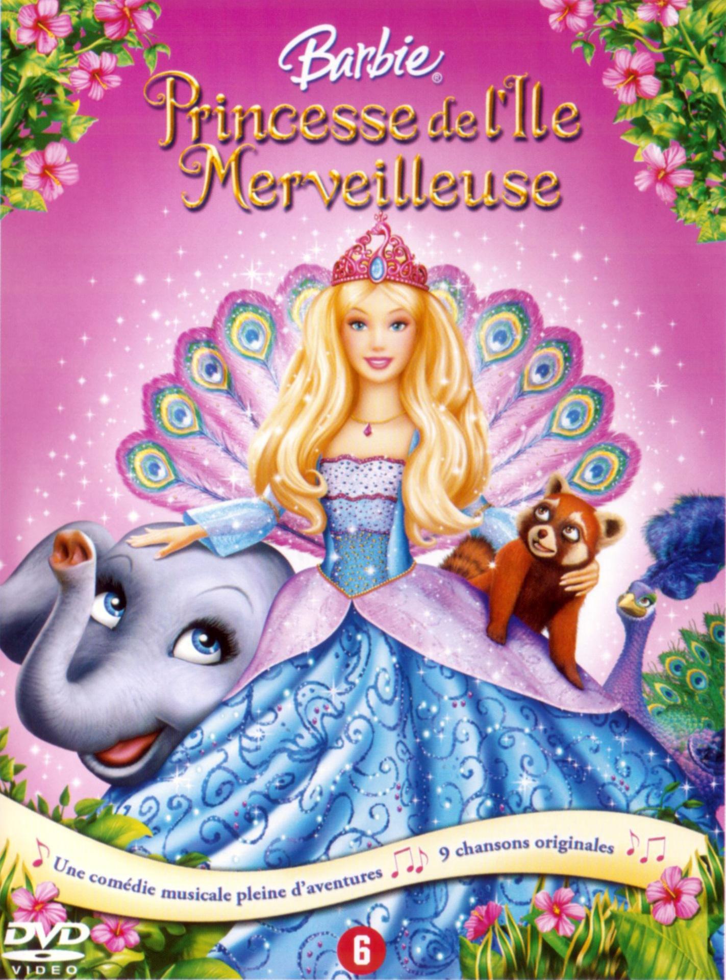 Pr sentation de barbie princesse de l 39 ile merveilleuse - Barbie en princesse ...