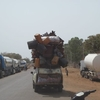 Burkina Chargement des taxis