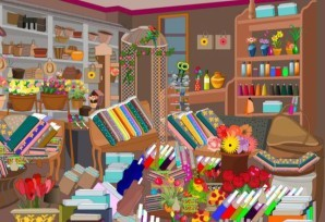 Artistic room - Hidden objects