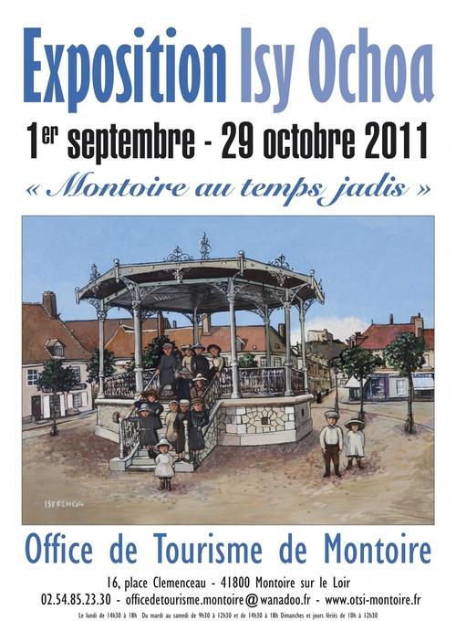 EXPOSITION À L'OFFICE DE TOURISME DE MONTOIRE-SUR-LE-LOIR