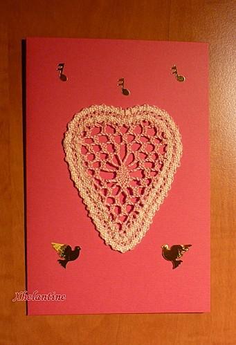 carte coeur dentelle