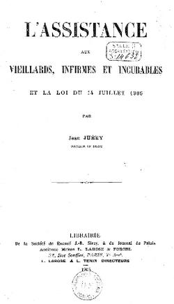 L'assistance aux nécessiteux au 19ème siècle et au début du 20ème siècle