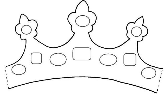 Couronne de princesse mon cole c 39 est chez moi - Couronne princesse dessin ...