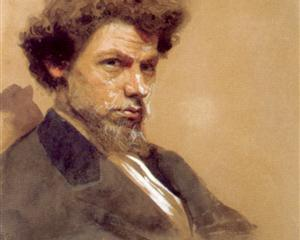 Portrait of the Artist V.M. Maksimov - Ivan Kramskoy
