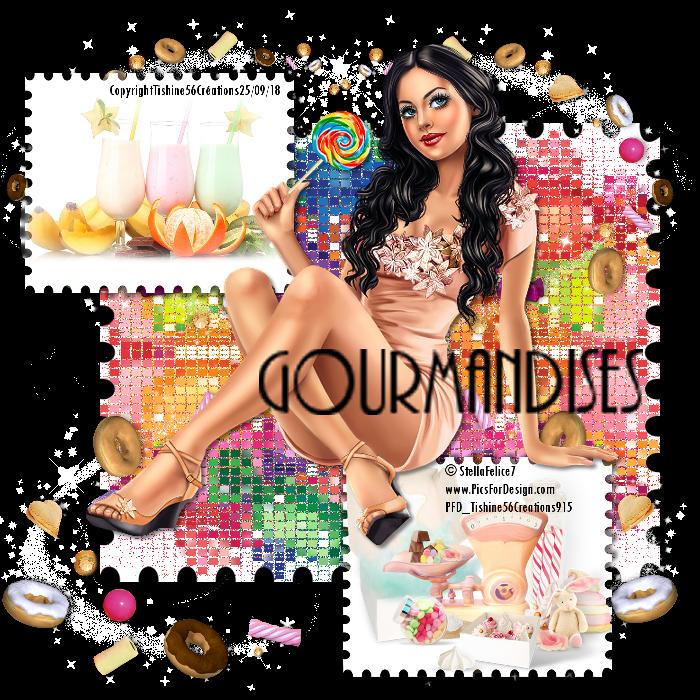 Gourmandises....
